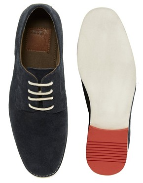 Image 3 ofASOS Derby Shoes With Multi Colour Sole