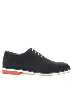 Image 4 ofASOS Derby Shoes With Multi Colour Sole