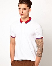 ASOS Polo With Contrast Tipping