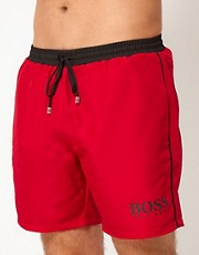 Boss Black Star Fish Swim Short