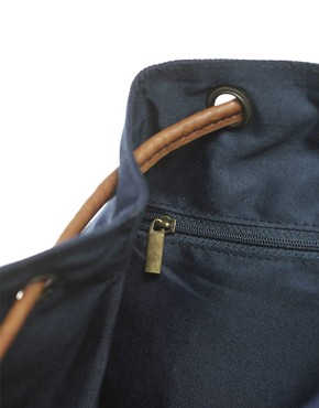 Image 2 ofPieces Orli Leather Backpack