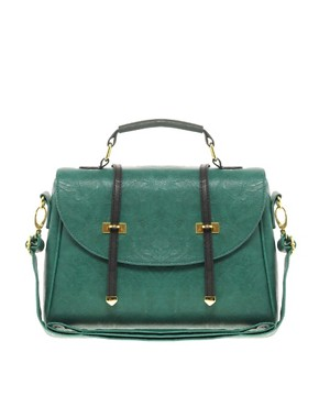 Image 1 ofASOS Metal Tip Satchel