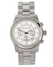 Michael Kors MK8086 Silver Steel Bracelet Watch