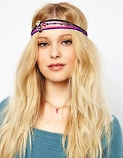 Juicy Couture Set Of Three Charm Headbands