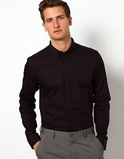 ASOS Smart Shirt With Button Down Collar