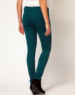 Image 2 ofASOS Maternity Skinny Jean in Teal