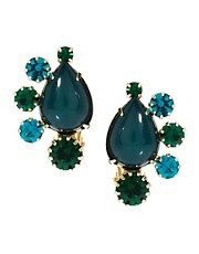 ASOS Cluster Clip On Earrings