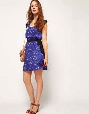 Image 4 ofKookai Bird Print Dress
