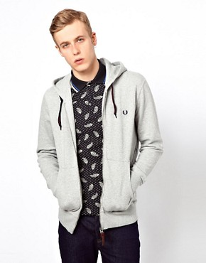 Image 1 ofFred Perry Sweat Hooded Zip
