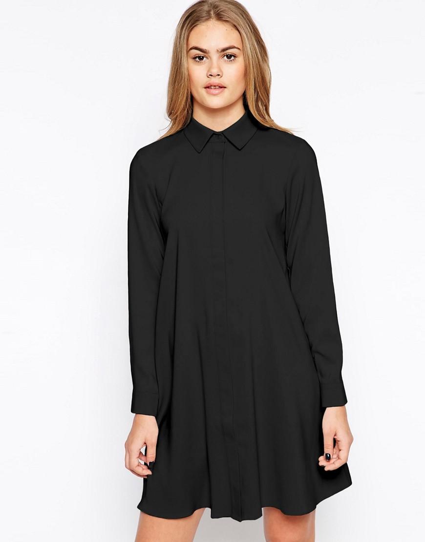 ASOS Shirt Dress - Black