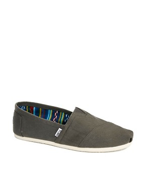 Image 1 ofTOMS Canvas Classic Espadrilles