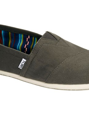 Image 2 ofTOMS Canvas Classic Espadrilles