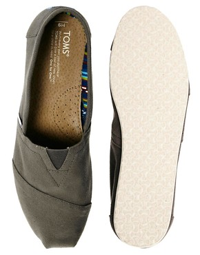 Image 3 ofTOMS Canvas Classic Espadrilles