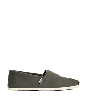 Image 4 ofTOMS Canvas Classic Espadrilles