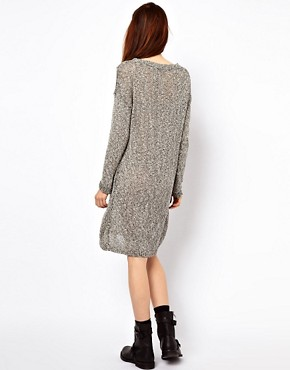 Image 2 ofJust Female Flecked Jumper Dress