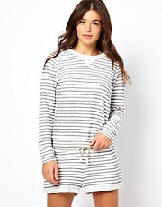 Bjorn Borg Lilian Stripe Long Sleeve Top