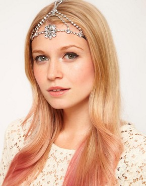 Image 1 ofASOS Jewelled Flower Headband