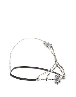Image 2 ofASOS Jewelled Flower Headband