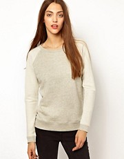 Whistles - Charlotte - Sweat de couleur aspect moucheté