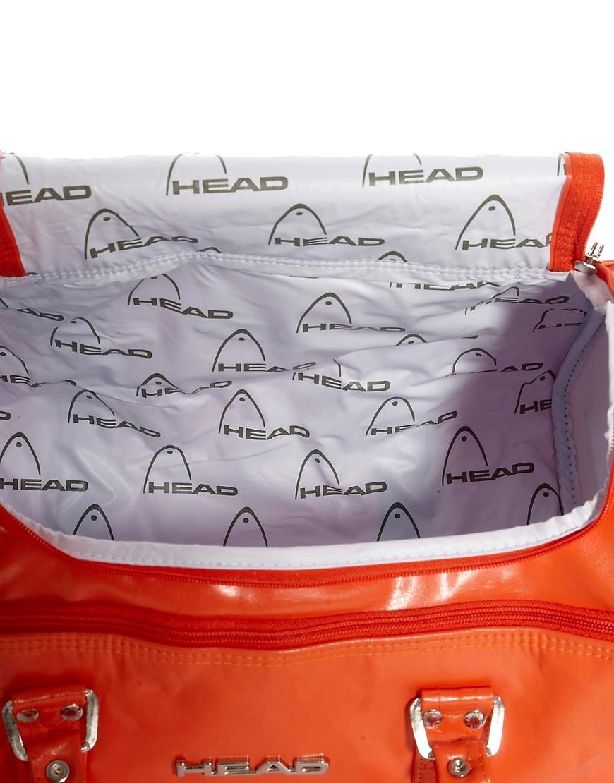 Image 2 ofHead St Moritz Bag in Tangerine