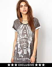 Religion  Bones T-Shirt Exclusive To Asos