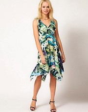 Traffic People Flutterby Jagged Edge Dress