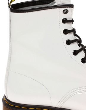 Image 2 ofDr Martens Modern Classics 1460 8-eye patent boot