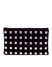 ASOS Suede Studded Clutch