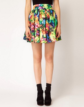 Image 4 ofA Wear Skater Skirt