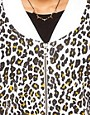 Image 3 ofASOS Bomber in Cheetah Print
