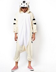 Kigu White Tiger Onesie