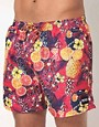 Image 1 ofBoss Black Piranha Swim Shorts