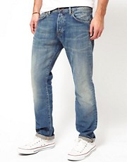 Edwin - ED-71 Bronco - Jeans slim regular chiari