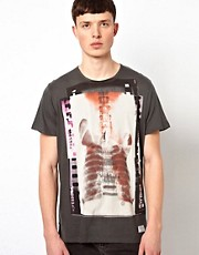 Ben Sherman T-Shirt Guitar Xray Print