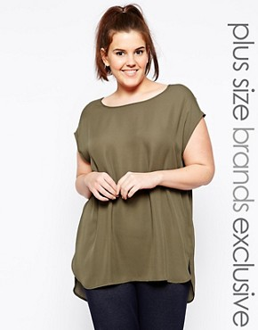 New Look Inspire Zip Shoulder Tunic
