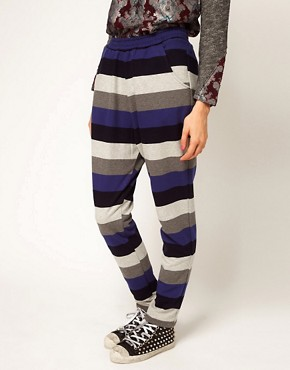 Image 4 ofASOS Africa Stripe Trouser