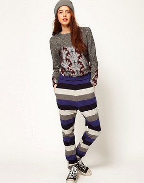 Image 1 ofASOS Africa Stripe Trouser