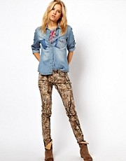 Denim &amp; Supply By Ralph Lauren Woodland Print Skinny Jeans