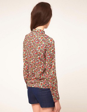 Image 2 ofSessun Shirt in Liberty Print Floral