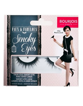 Image 2 ofBourjois Faux &amp; Fabulous Lashes - Smokey Eyes