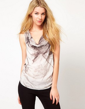 Image 1 ofSelected Printed Silk Top