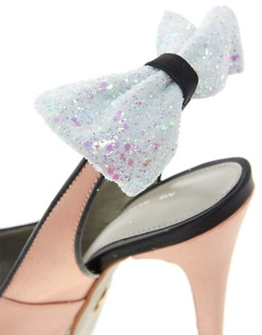Image 2 ofKG Norma Bow Back Slingback Platform Shoes