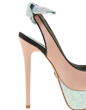 Image 3 ofKG Norma Bow Back Slingback Platform Shoes