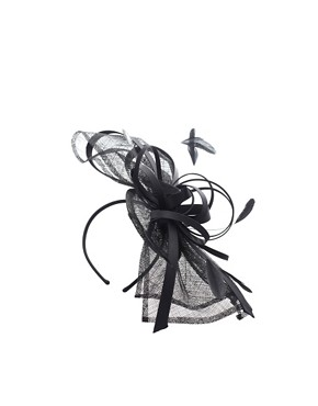 Image 4 ofASOS Statement Sinamay Bow And Ribbon Fascinator