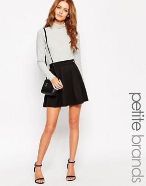 New Look Petite Aline Skater Skirt