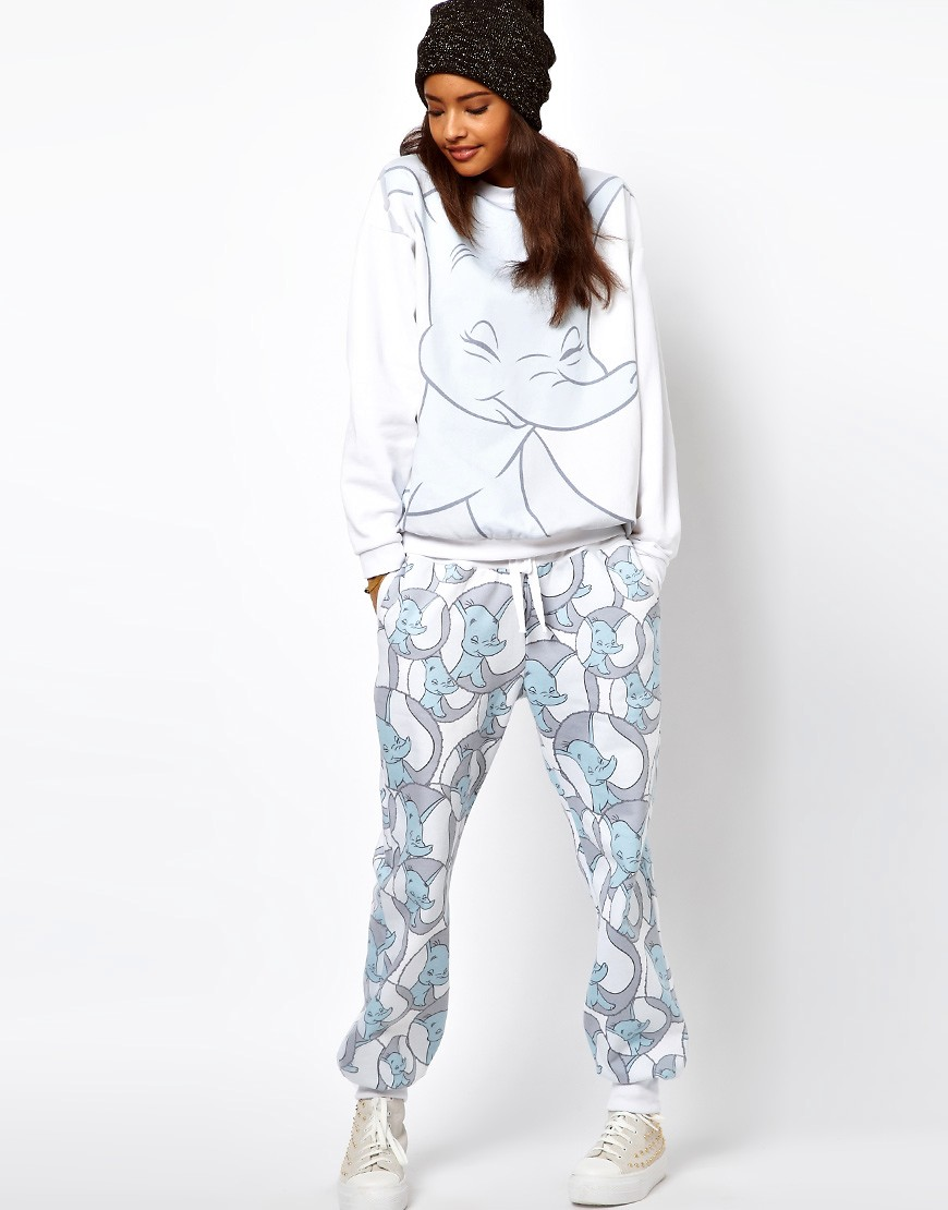 Image 4 of ASOS Sweatshirt with Dumbo Print