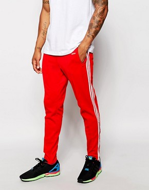 adidas Originals Beckenbauer Skinny Joggers With Stirrups AB7765