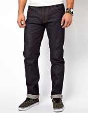 Nudie Jeans Hank Rey Dry Deep Indigo