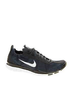 Image 1 ofNike Free Training Twist Black Trainers