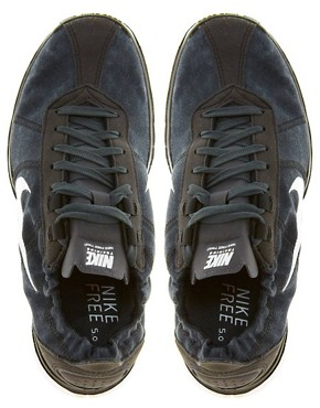 Image 3 ofNike Free Training Twist Black Trainers